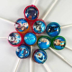 Frozen Pops for themed parties with characters from the hit movie incl. Elsa, Anna, Olaf, Kristoff & Sven.