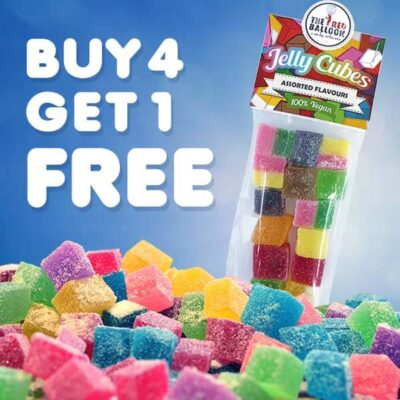 Buy 4 Get 1 FREE special promotion on selected 120g bags.